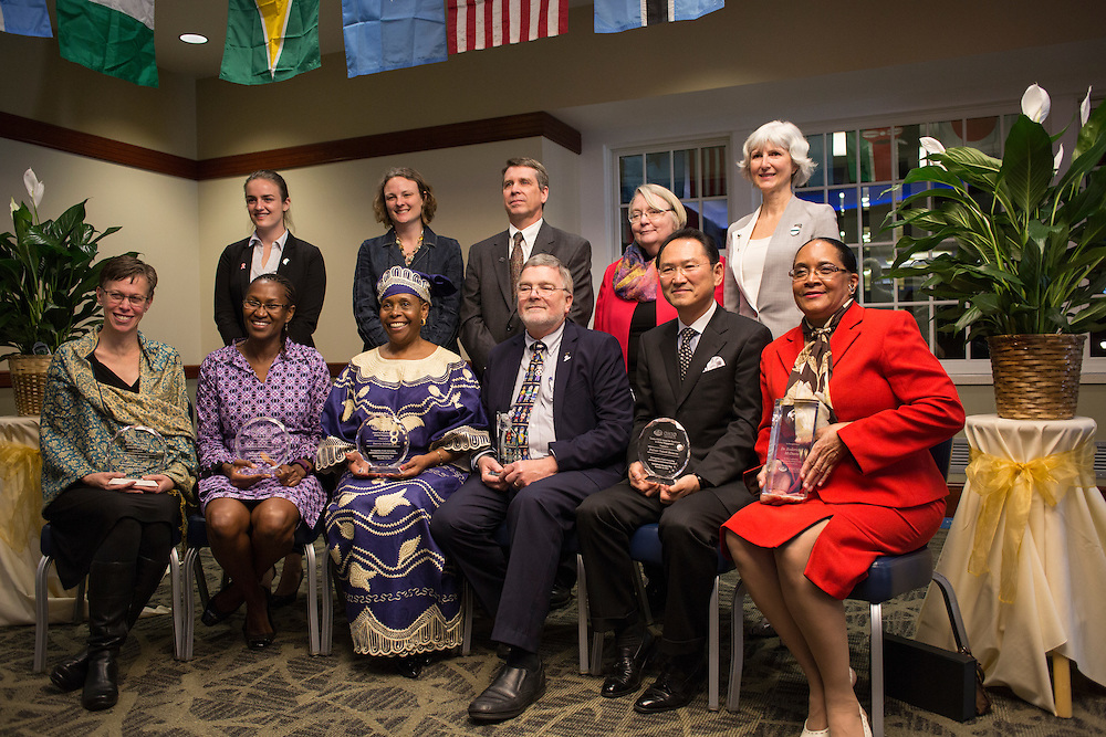 Awards for Excellence in Global Engagement at The Global Engagement Awards Gala for International Education Week on November 16, 2016.