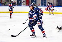 2020-01-22   Kallinge, Sweden: Krif hockey (72) Alexander Heiver during the warming up before the game between Krif hockey and Halmstad Hammers at Soft Center Arena (Photo by: Jonathan Persson   Swe Press Photo)<br /> <br /> Keywords: kallinge, Ishockey, Icehockey, hockeyettan, allettan södra, soft center arena, krif hockey, halmstad hammers (Match code: krhh200122)