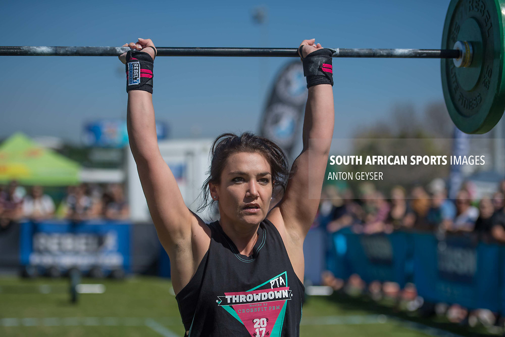 PRETORIA, SOUTH AFRICA - APRIL 29:  during the women's WOD 4 at the Pretoria Throw Down in Waterkloof High School on April 29, 2017 in Pretoria, South Africa. (Photo by Anton Geyser/Gallo Images)