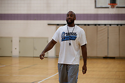 2017 July 08: Marcus Ginyard basketball camp Chapel Hill Community Day at Hargraves Community Center in Chapel Hill, NC. (Photo by Peyton Williams)