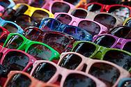 Sunglasses at street market, Bangkok.