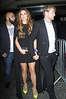 Jodi Albert & Kian Egan, The BRIT Awards 2014 - Warner Music After Party, The Savoy, London UK, 19 February 2014, Photo by Brett D. Cove