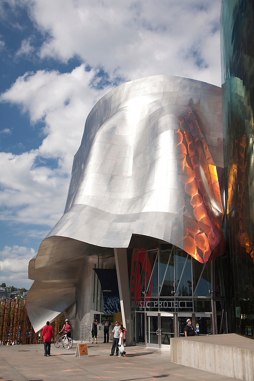 United States, Washington, Seattle, Experience Music Project and Science Fiction Museum