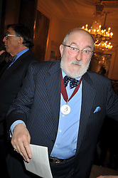 Artist ANTHONY GREEN RA at a private view of the Kuniyoshi exhibition at the Royal Academy, Piccadilly, London on 17th March 2009.