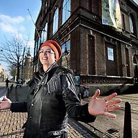 Nederland, Amsterdam , 19 februari 2015.<br /> Advocate Margriet Koedooder van het Amsterdamse kantoor De Vos en Partners voor poptempel Paradiso<br /> Foto:Jean-Pierre Jans
