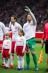 November 10, 2017 - Warsaw, Poland - Polish national team goalkeeper Artur Boruc (65) attend his last game for the national team during the international friendly soccer match between Poland and Uruguay at the PGE National Stadium in Warsaw, Poland on 10 November 2017  (Credit Image: © Mateusz Wlodarczyk/NurPhoto via ZUMA Press)
