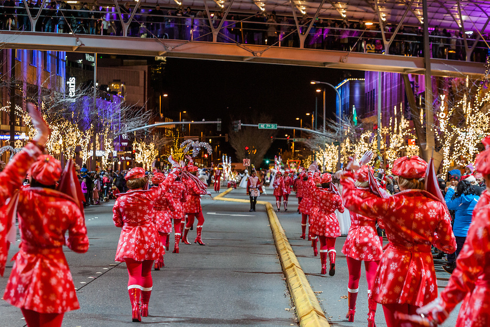 The Snowflake Lane show happen every night at 7pm Til December 24