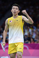 Lee Chong Wei, Malaysia, Mens Snigles, Olympic Badminton London Wembley 2012
