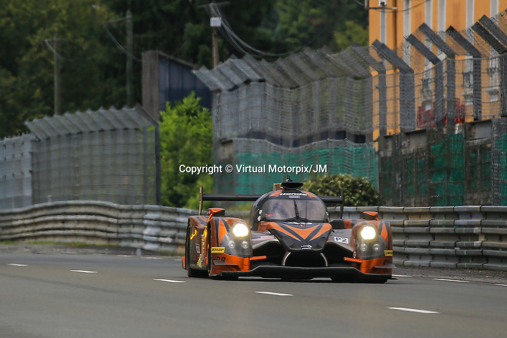 #49, Ligier JS P2 Honda, Michael Shank Racing, driven by John Pew, Ozz Negri Jr, Laurens Vanthoor, 24 Heures Du Mans , 18/06/2016,
