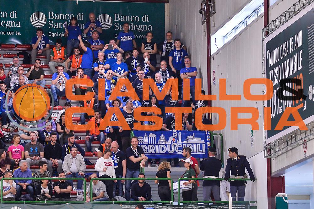 Tifosi Irriducibili Germani Basket Leonessa Brescia<br /> Banco di Sardegna Dinamo Sassari - Germani Basket Leonessa Brescia<br /> Legabasket Serie A LBA PosteMobile 2017/2018<br /> Sassari, 08/04/2018<br /> Foto L.Canu / Ciamillo-Castoria