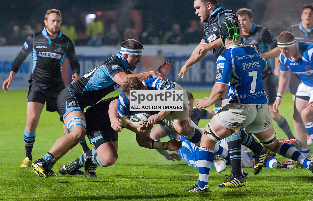 Resolute defending by Glasgow Warriors as Newport Gwent Dragons press