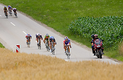 Riders at Slovenian National Championships in Road cycling, 178 km, on June 28 2009, in Mirna Pec, Slovenia. (Photo by Vid Ponikvar / Sportida)