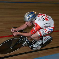 APELDOORN NK Baanwielrennen 2008-2009<br />Wim Stroetinga NK achtervolging