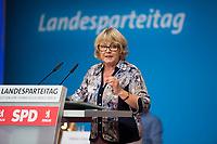 DEU, Deutschland, Germany, Berlin, 01.06.2018: Dr. Sylvia-Yvonne Kaufmann (MdEP), Landesparteitag der Berliner SPD im Hotel Andels.