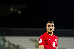 October 5, 2017 - San Marino, SAN MARINO - 171005 Mohamed Elyounoussi of Norway during the FIFA World Cup Qualifier match between San Marino and Norway on October 5, 2017 in San Marino. .Photo: Fredrik Varfjell / BILDBYRN / kod FV / 150027 (Credit Image: © Fredrik Varfjell/Bildbyran via ZUMA Wire)
