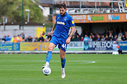 AFC Wimbledon midfielder Anthony Wordsworth (40) controlling the ball during the EFL Sky Bet League 1 match between AFC Wimbledon and Rochdale at the Cherry Red Records Stadium, Kingston, England on 5 October 2019.