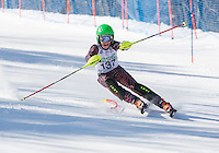 Piche Open Slalom at Gunstock.  U12 men 1st run.  ©2014 Karen Bobotas Photographer