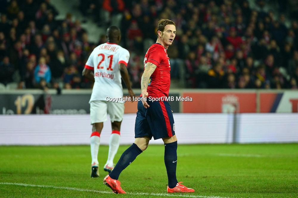 Deception Nolan ROUX  - 24.01.2015 - Lille / Monaco - 22eme journee de Ligue1<br />Photo : Dave Winter / Icon Sport