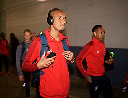 NEW JERSEY, USA - Wednesday, July 25, 2018: Liverpool's Fabio Henrique Tavares 'Fabinho' arrives before a preseason International Champions Cup match between Manchester City FC and Liverpool FC at the Met Life Stadium. (Pic by David Rawcliffe/Propaganda)