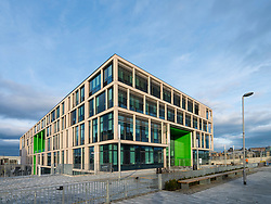 New Boroughmuir High School nearing completion in Edinburgh, Scotland, United Kingdom.