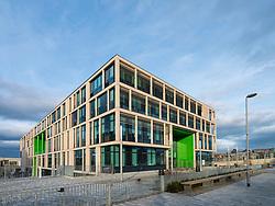 New Boroughmuir High School nearing completion in Edinburgh, Scotland, United Kingdom.