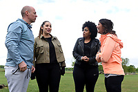 Tim Weeks talks to participants at Celebrate You Training Session with Tim Weeks in Richmond Park, Surrey - preparing runners for The Vitality London 10,000, which will take place on Monday 27th May 2019. Friday 26 April 2019<br /> <br /> Photo: Kate Green for Vitality London 10,000<br /> <br /> For further information: media@londonmarathonevents.co.uk