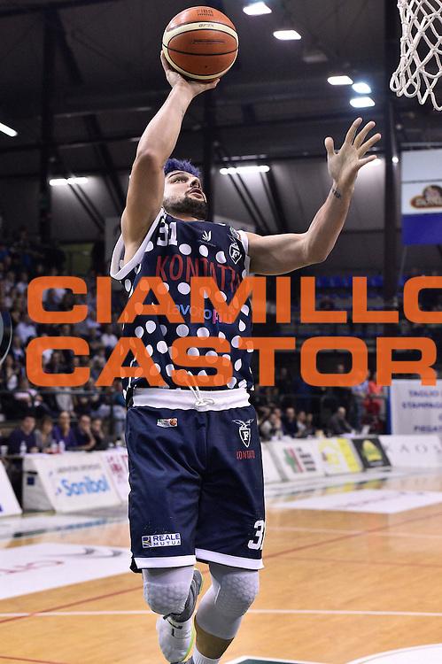 Nazzareno Italiano<br /> Bondi Pallacanestro Ferrara - Fortitudo Kontatto Bologna<br /> Campionato Basket A2 LNP 2016/2017<br /> Ferrara, 25/11/2016<br /> Foto Ciamillo-Castoria
