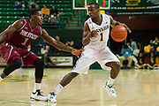 WACO, TX - DECEMBER 17: Kenny Chery #1 of the Baylor Bears drives to the basket against the New Mexico State Aggies on December 17, 2014 at the Ferrell Center in Waco, Texas.  (Photo by Cooper Neill/Getty Images) *** Local Caption *** Kenny Chery