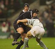 Twickenham, England, RFU Twickenham Stadium, Surrey, 10.12.2002.<br /> 2002 Varsity Rugby - Oxford vs Cambridge<br /> Kevin Tkachuk    [Mandatory Credit:Peter SPURRIER/Intersport Images]