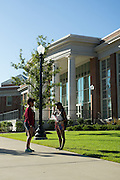 TUSCALOOSA, AL – SEPTEMBER 28, 2016: Students at the University of Alabama walk throughout the campus. Despite the rising cost of college tuition nationwide, in state student enrollment is becoming less profitable for major public universities. In response to these financial shortfalls, flagship universities around the country are working hard to rebrand themselves as attractive institutions for out of state students. The University of Alabama has begun an aggressive campaign to recruit out of state students, as the revenue from those students is much greater. CREDIT: Bob Miller for The New York Times