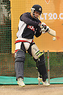 Matthew Wade of the Victorian Bushrangers attempts to square cut a delivery during the Bushrangers training session held at St Georges Park in Port Elizabeth on the 17 September 2010..Photo by: Shaun Roy/SPORTZPICS/CLT20