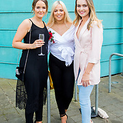 11.05. 2017.                                                 <br /> Over 20 leading Irish and international fashion media and influencers converged on Limerick for 24 hours on, Thursday, 11th May for a showcase of Limerick's fashion industry, culminating with Limerick School of Art & Design, LIT, presenting the LSAD 360° Fashion Show, sponsored by AIB.<br /> Pictured at the event were, Amie Heenan, Borrisokane Co. Tipperary, Cianna Maher, Monegal Co. Tipperary and Alice Greene, Carrick-on-Shannon Co. Leitrim. Picture: Alan Place