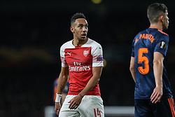 Pierre-Emerick Aubameyang of Arsenal looks on - Mandatory by-line: Arron Gent/JMP - 02/05/2019 - FOOTBALL - Emirates Stadium - London, England - Arsenal v Valencia - UEFA Europa League Semi-Final 1st Leg
