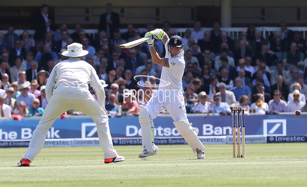England Ben Stokes during the first day of the Investec 1st Test  match between England and New Zealand at Lord's Cricket Ground, St John's Wood, United Kingdom on 21 May 2015. Photo by Ellie  Hoad.