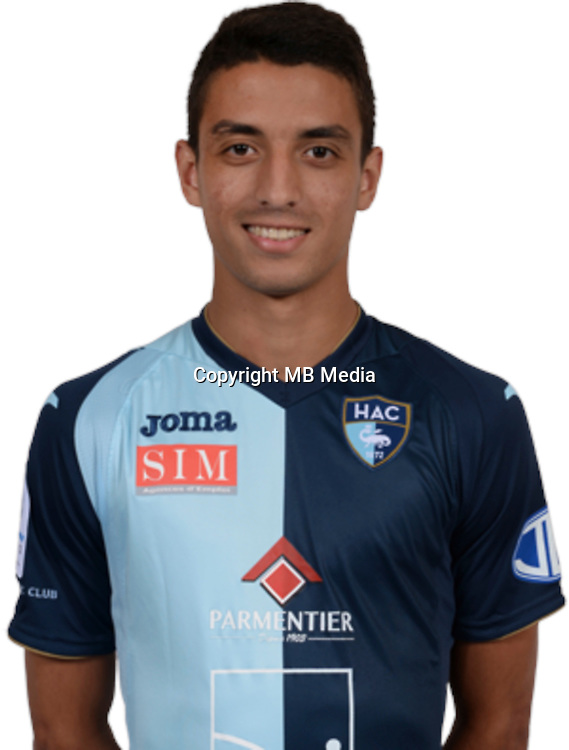 MOHAMED Taher during photocall of Le Havre AC for new season of Ligue 2 on September 29th 2016<br /> Photo : Lelaidier / Hac / Icon Sport
