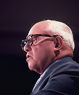 George Meany in 1972<br /> Photo by Dennis Brack