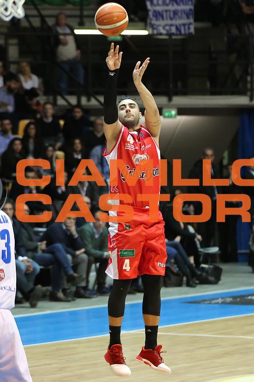 Aradori Pietro, Mia Cantù vs Grissin Bon Reggio Emilia LBA serie A 6^ giornata di ritorno stagione 2016/2017 PalaDesio 06/03/2017