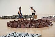 PHILIPPA LAWRENCE; RHIAN GREEN, Richard Long: Heaven and Earth. Tate Britain, Millbank. London. 1 June 2009