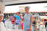 Rachelle Guiry, winner of Anthony Ryans Best Dressed Lady Competition will receive a magnificent prize of a one carat diamond solitaire pendant valued at €8,500, a shopping spree worth €1500 in Anthony Ryans, Galway and €1000 cash. She will also receive a Lancôme Presentation Gift Hamper worth over €600 and corporate hospitality package for Galway Races October Bank Holiday Racing Festival.Picture:andrew Downes