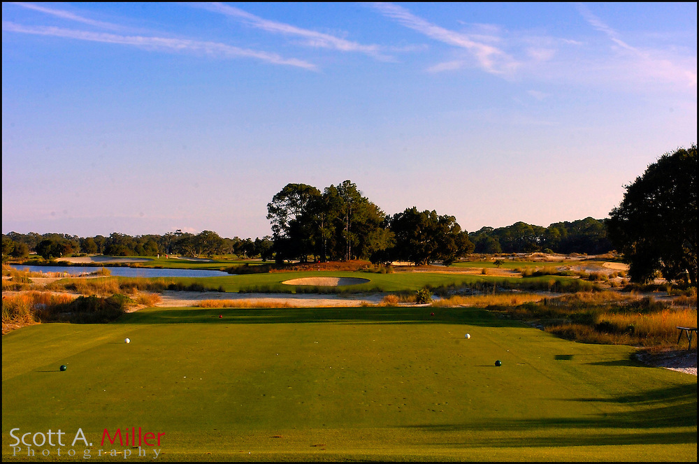 Feb 12, 2007:  No. 6 on the Seaside Course at Sea Island, Ga.....©2007 Scott A. Miller