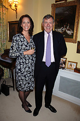 STUART & JILL CORBIN he is chief executive of the Cadogan Estates at a party to celebrate the 21st birthday of one of Richard & Basia Brigg's horses  Leopold, held at 35 Sloane Gardens, London W1 on 10th September 2007.<br />
