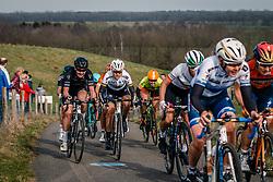 Peloton with DIDERIKSEN, Amalie (DEN) on the VAM-berg during the UCI Women's WorldTour Ronde van Drenthe at Drenthe, The Netherlands, 11 March 2017. Photo by Pim Nijland / PelotonPhotos.com | All photos usage must carry mandatory copyright credit (Peloton Photos | Pim Nijland)