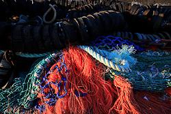 UK CORNWALL NEWLYN 9JUN08 - Ropes and fishing gear at Newlyn harbour in Cornwall, western England...jre/Photo by Jiri Rezac / WWF UK..© Jiri Rezac 2008..Contact: +44 (0) 7050 110 417.Mobile:  +44 (0) 7801 337 683.Office:  +44 (0) 20 8968 9635..Email:   jiri@jirirezac.com.Web:    www.jirirezac.com..© All images Jiri Rezac 2008 - All rights reserved.