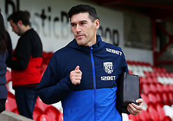 West Brom's Gareth Barry arrives at the Wham Stadium - Mandatory by-line: Matt McNulty/JMP - 22/08/2017 - FOOTBALL - Wham Stadium - Accrington, England - Accrington Stanley v West Bromwich Albion - Carabao Cup - Second Round