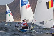 2016 Olympic Sailing Games-Rio-Brazil, ANP Copyright Olympische Spelen Zeilen, ls-BEL Wammes van Laer- Laser Standaard