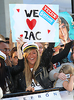 Zac Efron fans The Death And Life Of Charlie St. Cloud UK Premiere, Empire Cinema, Leicester Square, London, UK, 16 September 2010: For piQtured Sales contact: Ian@Piqtured.com +44(0)791 626 2580 (Picture by Richard Goldschmidt/Piqtured)