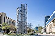 The Anaheim Convention Center and Marriott Hotel