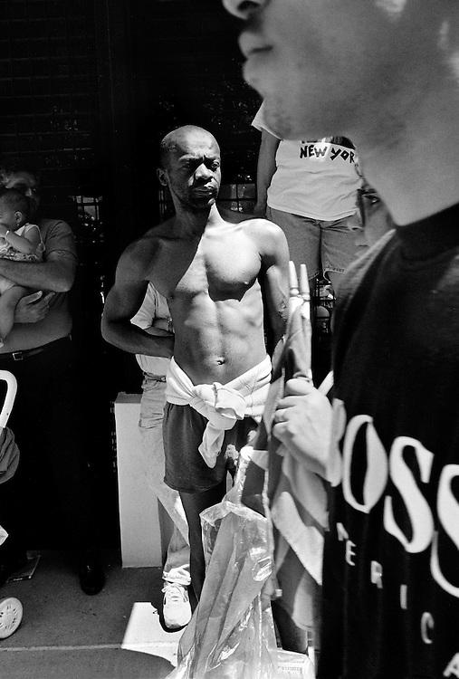 Street scene, Manhattan, NYC 1993