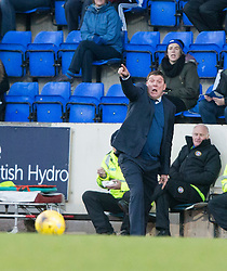 St Johnstone manager Tommy Wright.St Johnstone 2 v 4 Ross County. SPFL Ladbrokes Premiership game played 19/11/2016 at St Johnstone's home ground, McDiarmid Park.