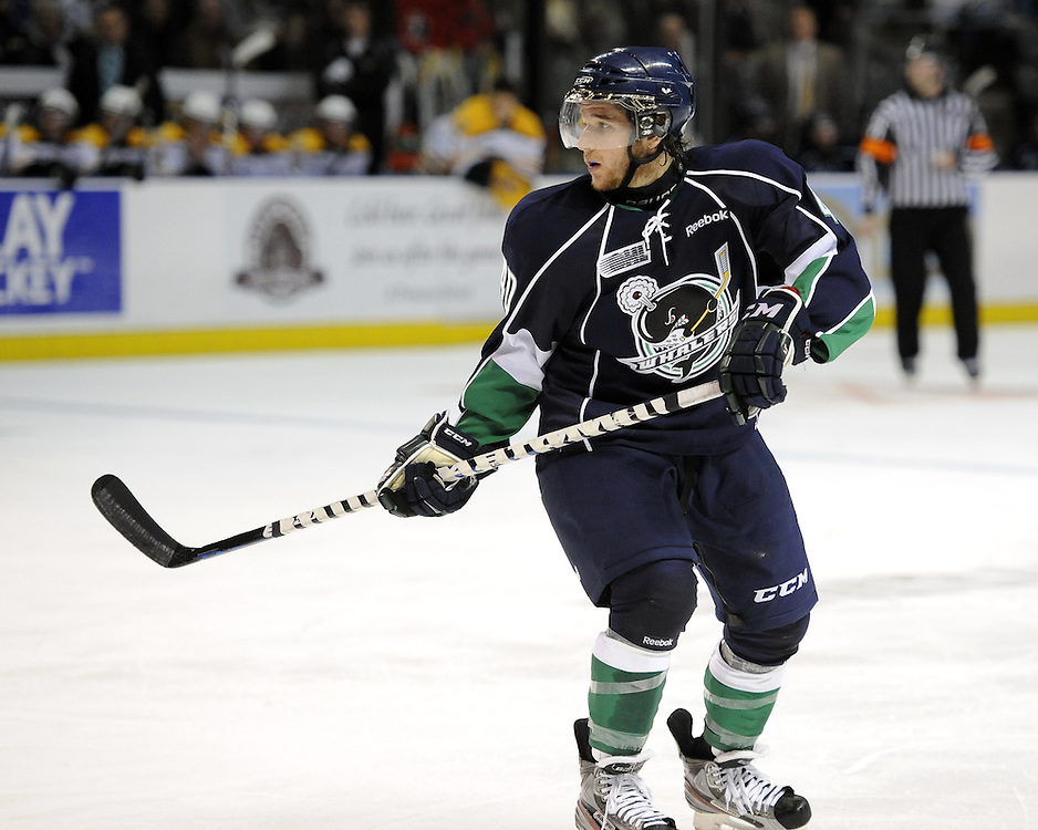 of the Plymouth Whalers. Photo by Aaron Bell/OHL Images